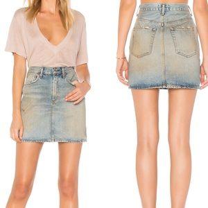 •Agolde• Denim Mini Skirt